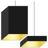 Hangkap vierkant recht 70cm
