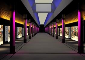 Palace promenade